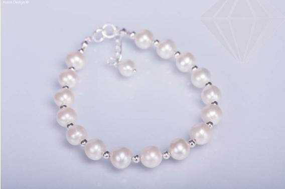 kolok.ro-Brățară ajustabilă din argint cu perle de cultură-KDI280-30