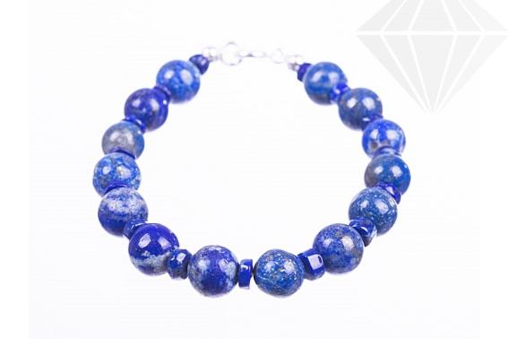 kolok.ro-Brățară lapis lazuli cu argint 925-KDK504-30