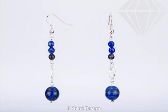kolok.ro-Cercei lungi handmade cu pietre de lapis lazuli-KDHE08-30