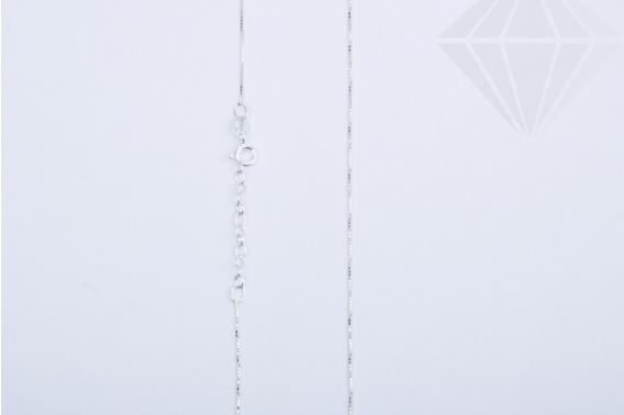 kolok.ro-Lănțișor din argint 925 cu zale cubice-KDA103-30