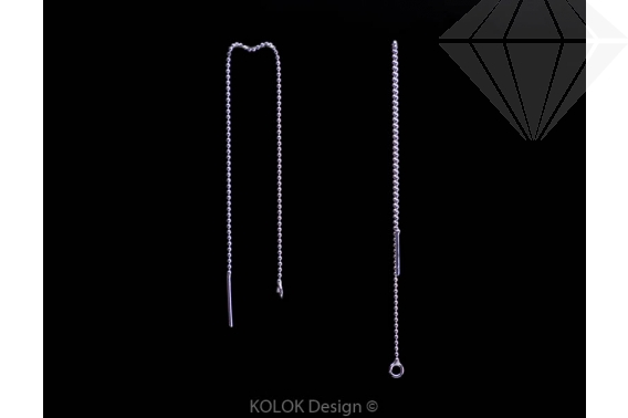 kolok.ro-Cercei lungi cu lănțișor din argint 925-KDA55-30