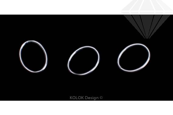 kolok.ro-Inele ovale închise din argint 925-KDA24-30