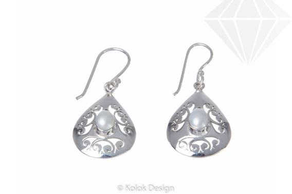 kolok.ro-Cercei Maroc din argint 925 cu perle de cultură-KDP01-30
