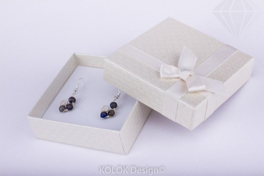 kolok.ro-Cutie pentru set mic cu fundiță crem-KDB19-30