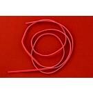 kolok.ro-Șnur de piele plat – roșu-KD16621-20