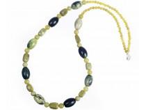 kolok.ro-Colier OLIVE din jad olive-KDK517-20