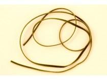 kolok.ro-Șnur de piele plat verde-KD16623-20