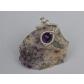 kolok.ro-Inel handmade cu o piatră de ametist fațetat-KDH72-00