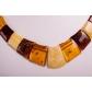 kolok.ro-Colier din chihlimbar cu mărgele diferite și rectangulare-KDX0234-00