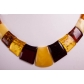 kolok.ro-Colier din chihlimbar cu mărgele rectangulare-KDX0232-00