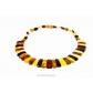 kolok.ro-Colier Cleopatra din chihlimbar baltic în formă de prisme-KDX061-00