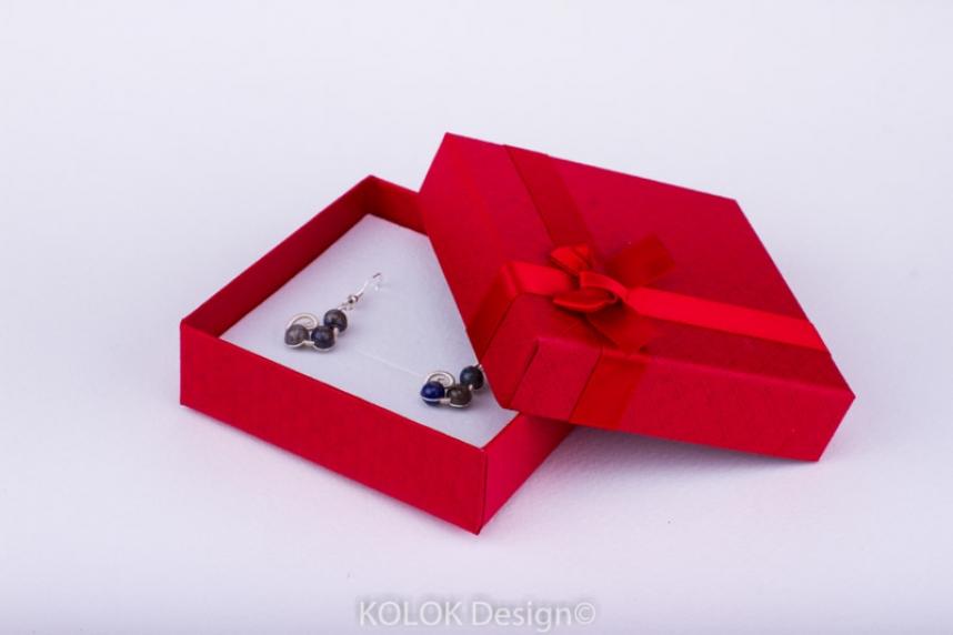 kolok.ro-Cutie pentru set mic cu fundiță roșie-KDB20-00