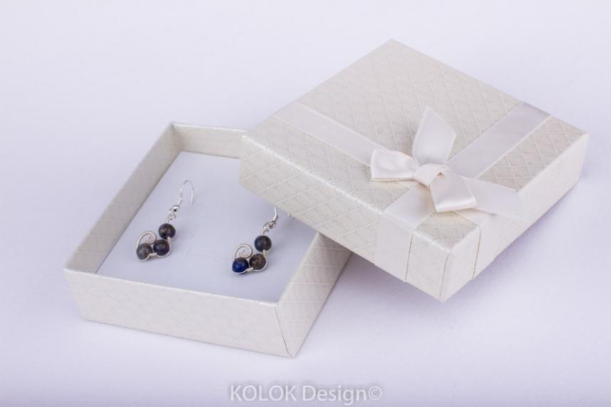 kolok.ro-Cutie pentru set mic cu fundiță crem-KDB19-00